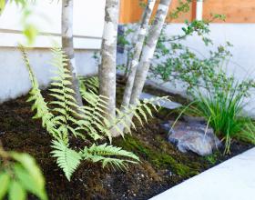 お庭の設計施工